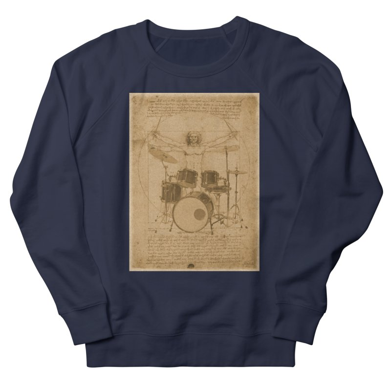 Vitruvius Percussionus Women's Sweatshirt by creativehack's Artist Shop