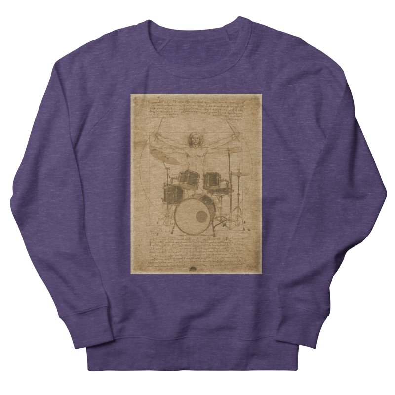 Vitruvius Percussionus Men's Sweatshirt by creativehack's Artist Shop