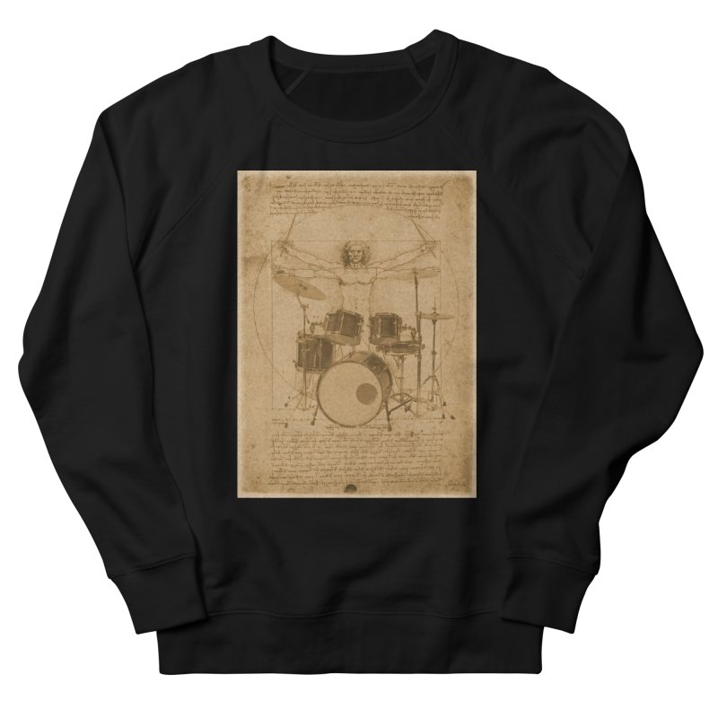 Vitruvius Percussionus Men's Sweatshirt by creativehack's Artist Shop