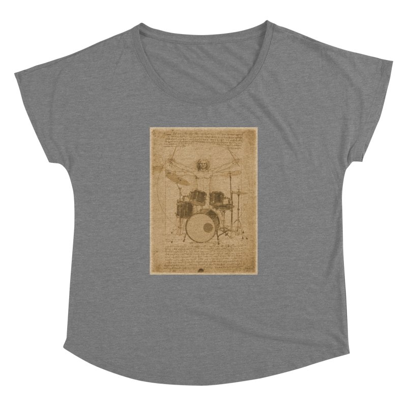 Vitruvius Percussionus Women's Dolman by creativehack's Artist Shop