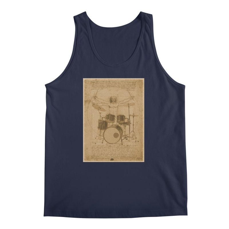 Vitruvius Percussionus Men's Tank by creativehack's Artist Shop