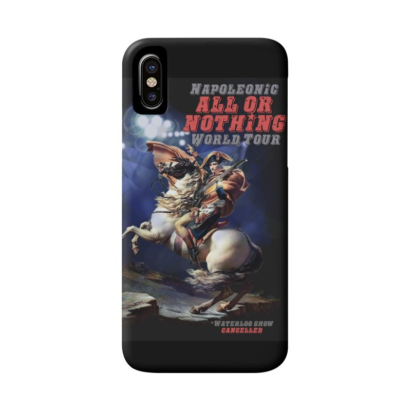 Napoleonic World Tour Accessories Phone Case by creativehack's Artist Shop