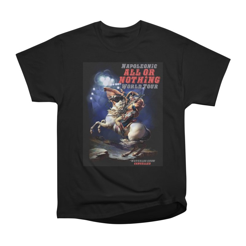 Napoleonic World Tour Women's Heavyweight Unisex T-Shirt by creativehack's Artist Shop