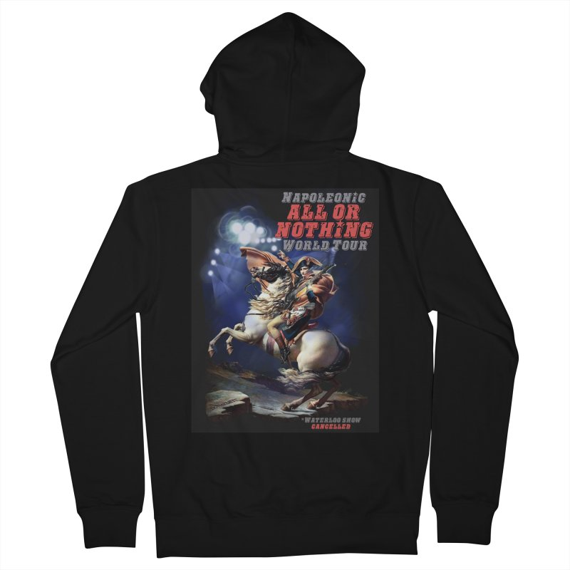 Napoleonic World Tour Men's Zip-Up Hoody by creativehack's Artist Shop