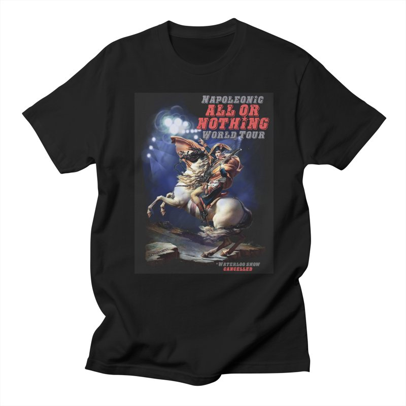 Napoleonic World Tour Men's T-Shirt by creativehack's Artist Shop