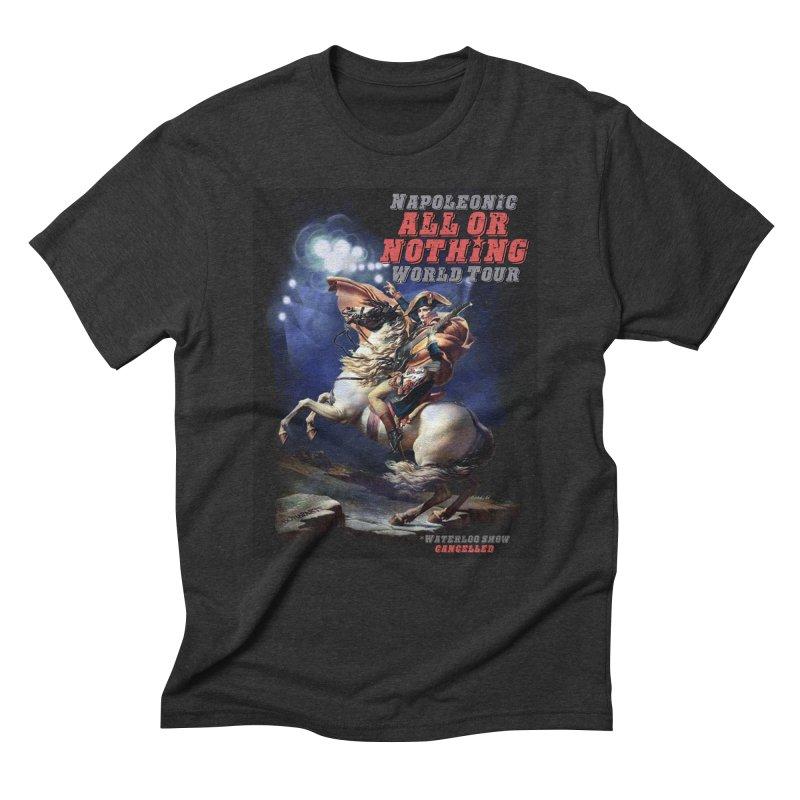 Napoleonic World Tour Men's Triblend T-Shirt by creativehack's Artist Shop