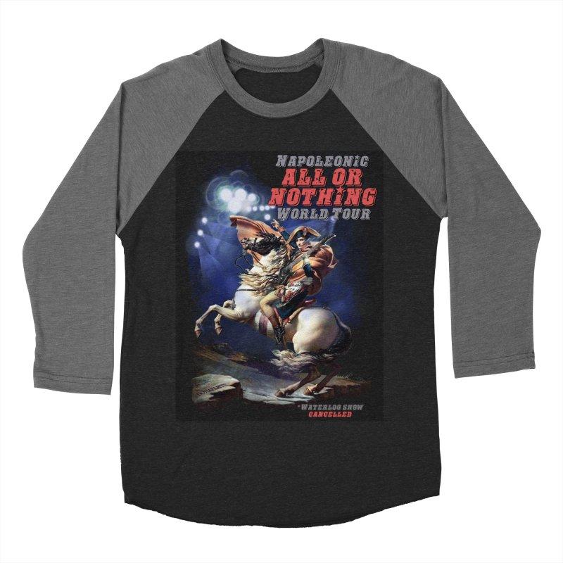 Napoleonic World Tour Men's Baseball Triblend T-Shirt by creativehack's Artist Shop