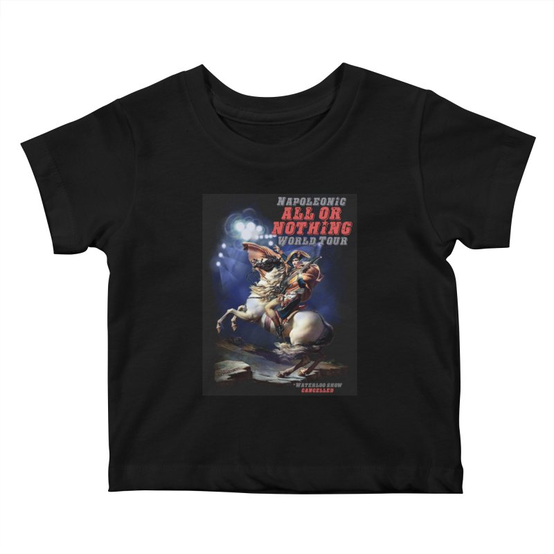 Napoleonic World Tour Kids Baby T-Shirt by creativehack's Artist Shop