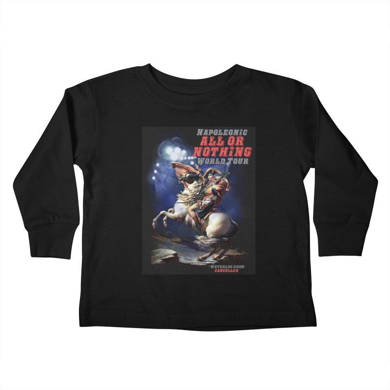 Napoleonic World Tour Kids Toddler Longsleeve T-Shirt by creativehack's Artist Shop