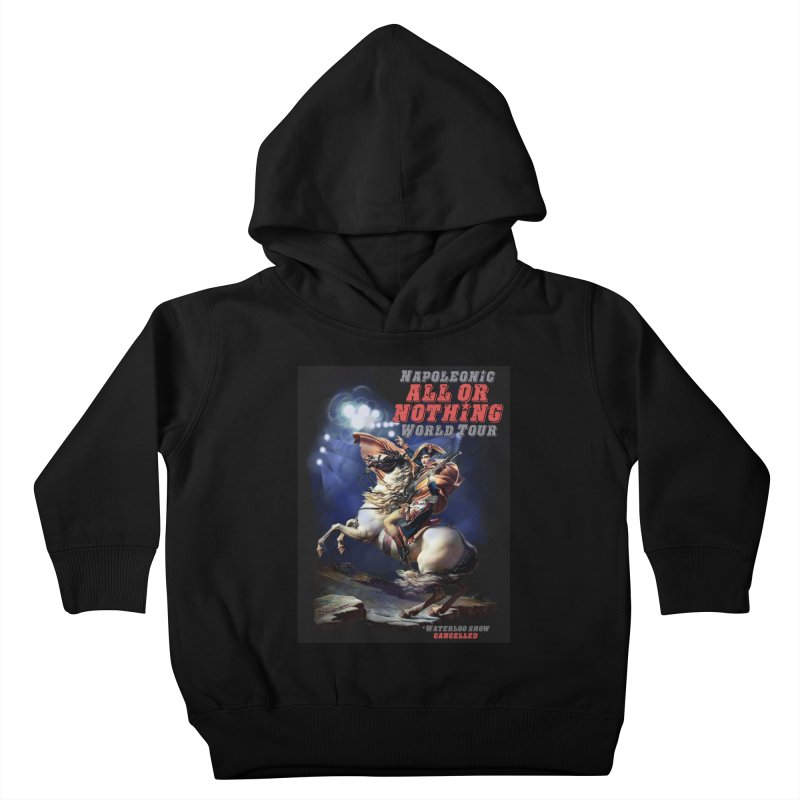 Napoleonic World Tour Kids Toddler Pullover Hoody by creativehack's Artist Shop