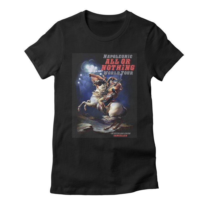 Napoleonic World Tour Women's Fitted T-Shirt by creativehack's Artist Shop