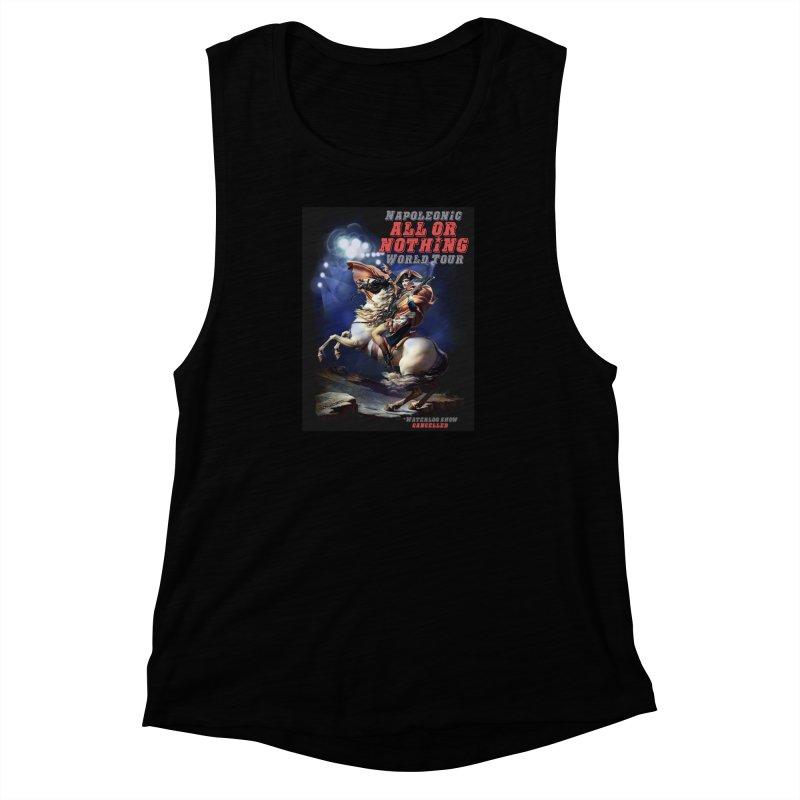 Napoleonic World Tour Women's Muscle Tank by creativehack's Artist Shop