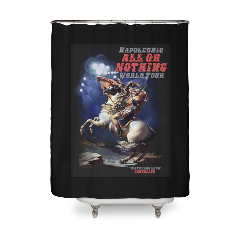 Napoleonic World Tour Home Shower Curtain by creativehack's Artist Shop