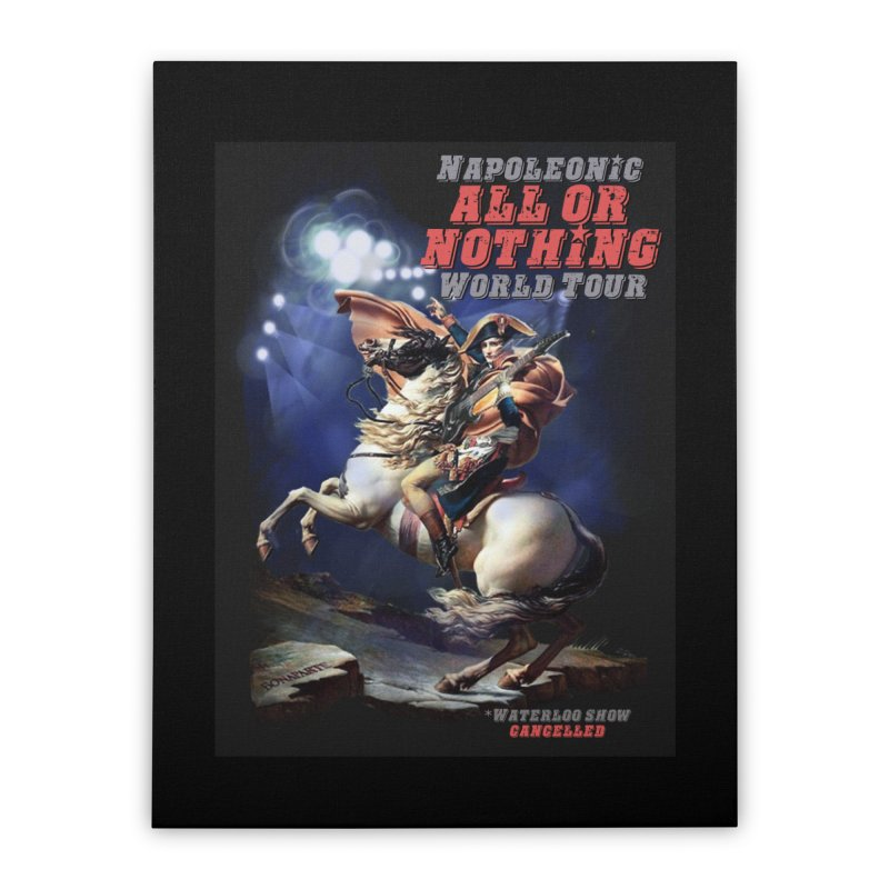 Napoleonic World Tour Home Stretched Canvas by creativehack's Artist Shop