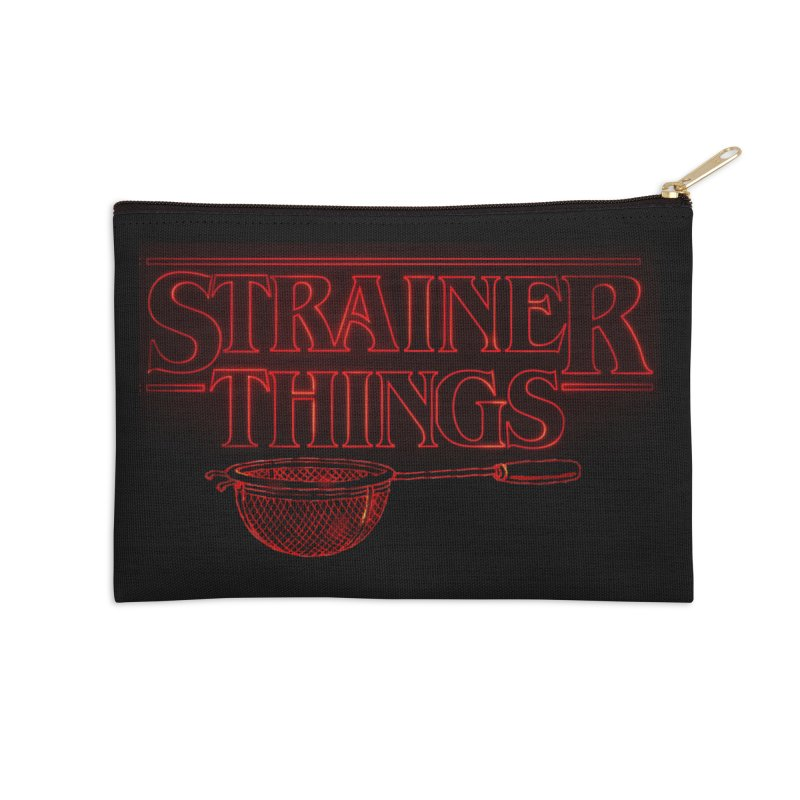 Strainer Things Accessories Zip Pouch by creativehack's Artist Shop