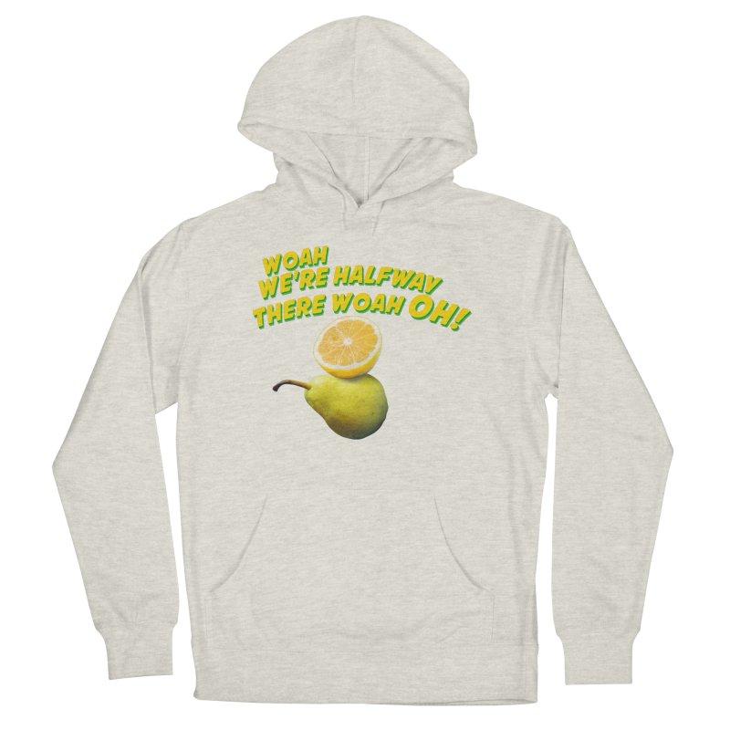 Lemon on a pear Men's Pullover Hoody by creativehack's Artist Shop