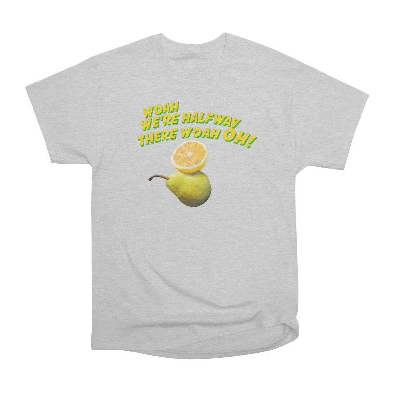 Lemon on a pear Men's Heavyweight T-Shirt by creativehack's Artist Shop