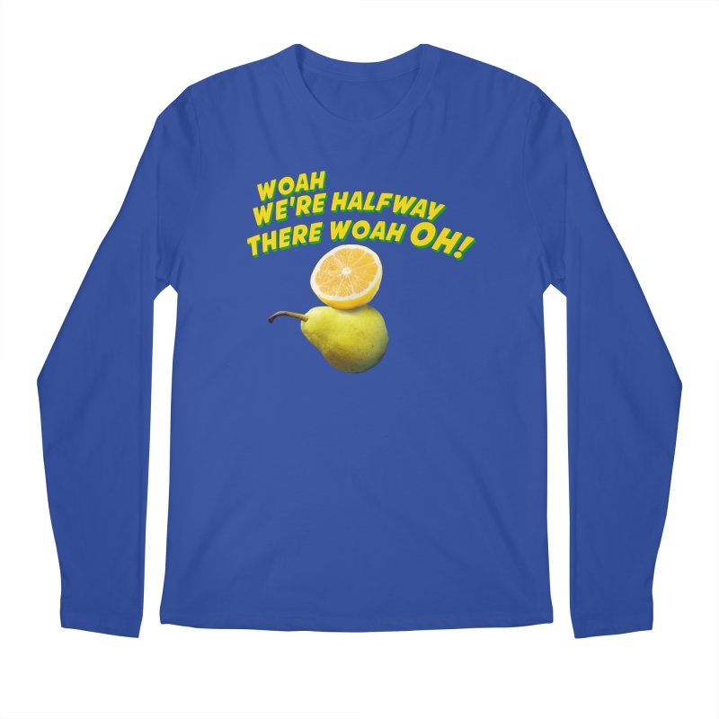 Lemon on a pear Men's Longsleeve T-Shirt by creativehack's Artist Shop