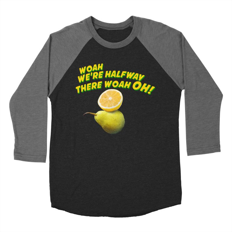Lemon on a pear Women's Baseball Triblend T-Shirt by creativehack's Artist Shop