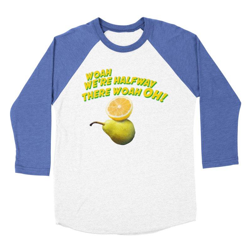 Lemon on a pear Men's Baseball Triblend T-Shirt by creativehack's Artist Shop