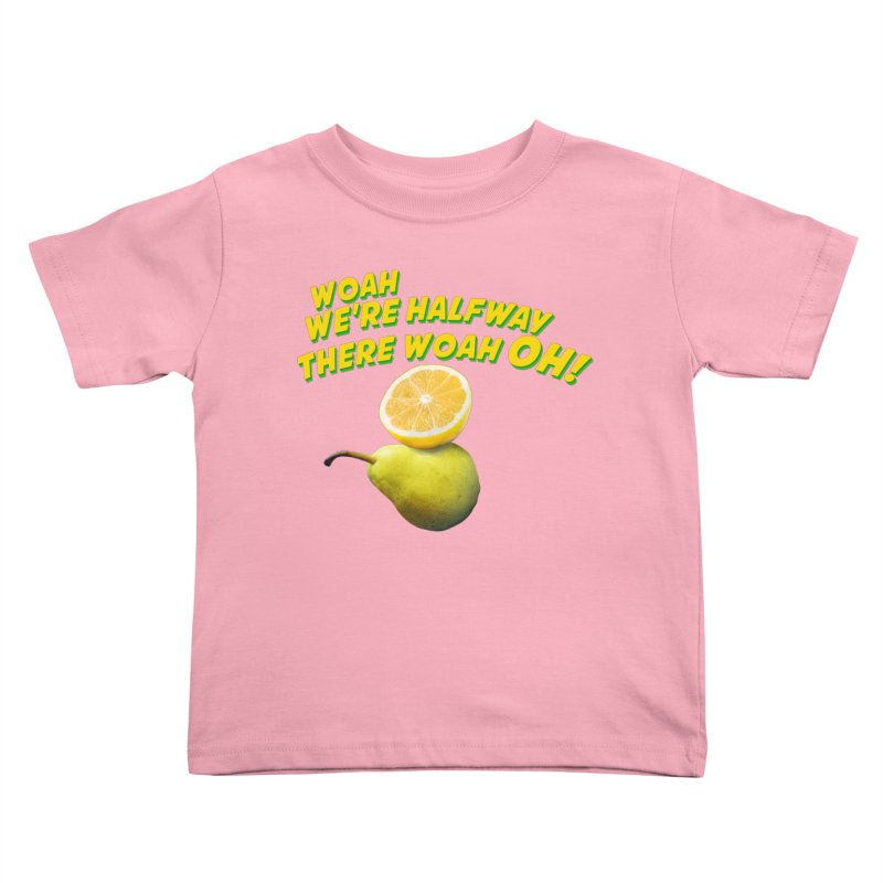 Lemon on a pear Kids Toddler T-Shirt by creativehack's Artist Shop