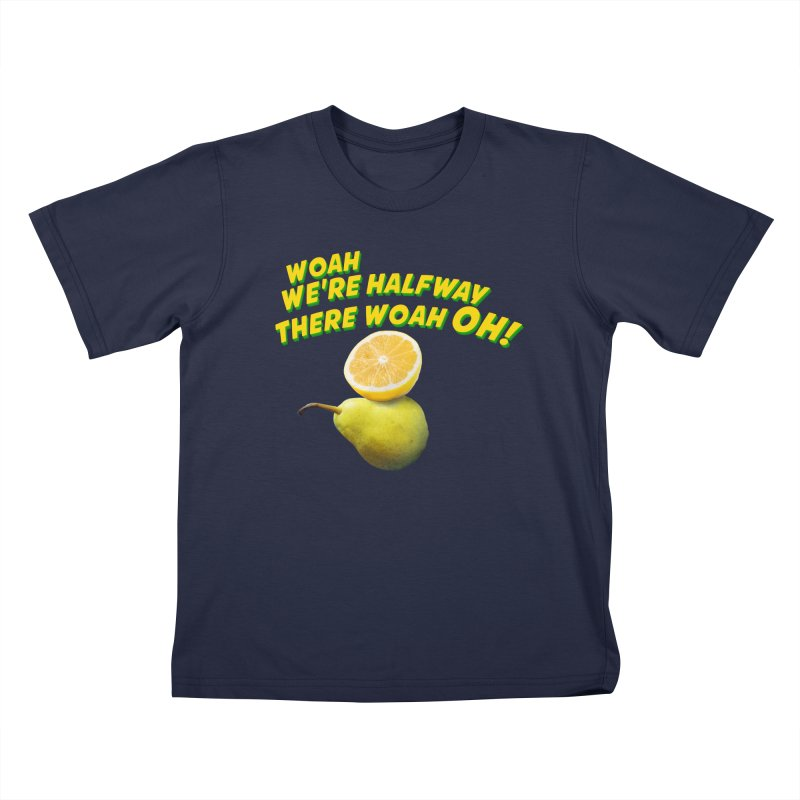 Lemon on a pear Kids T-Shirt by creativehack's Artist Shop