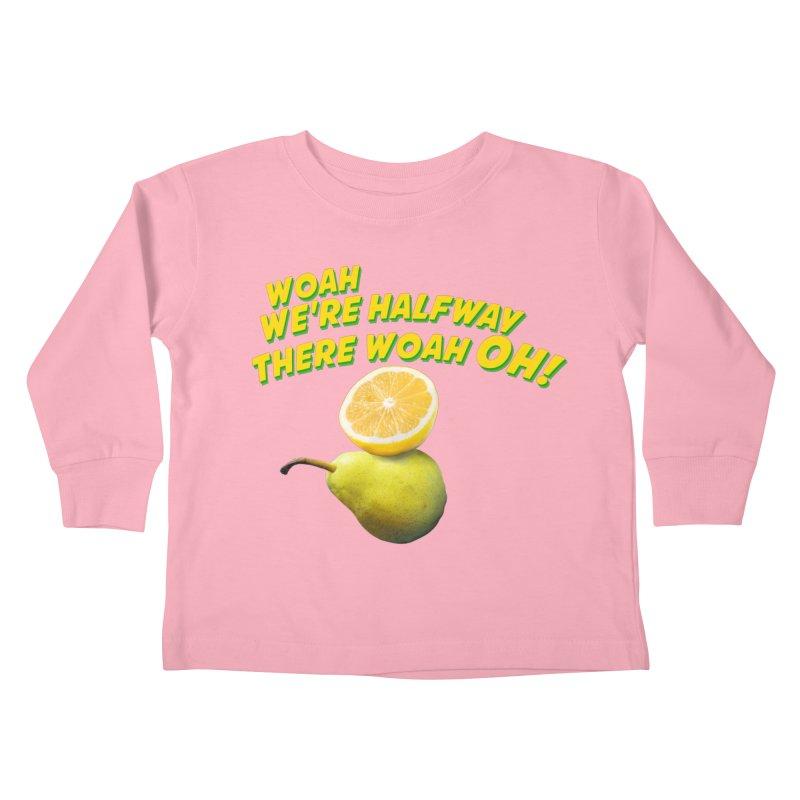 Lemon on a pear Kids Toddler Longsleeve T-Shirt by creativehack's Artist Shop