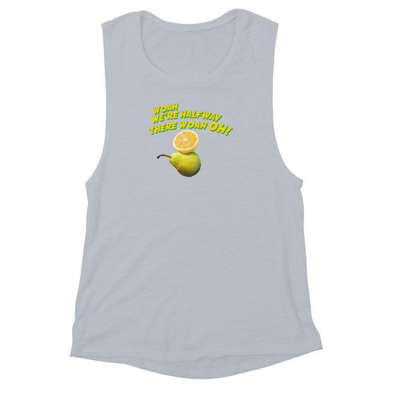 Lemon on a pear Women's Muscle Tank by creativehack's Artist Shop