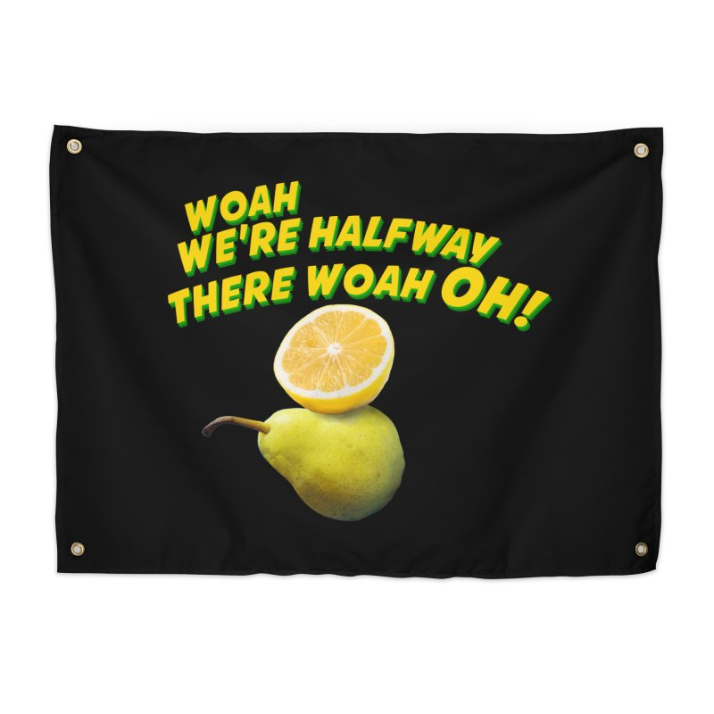 Lemon on a pear Home Tapestry by creativehack's Artist Shop