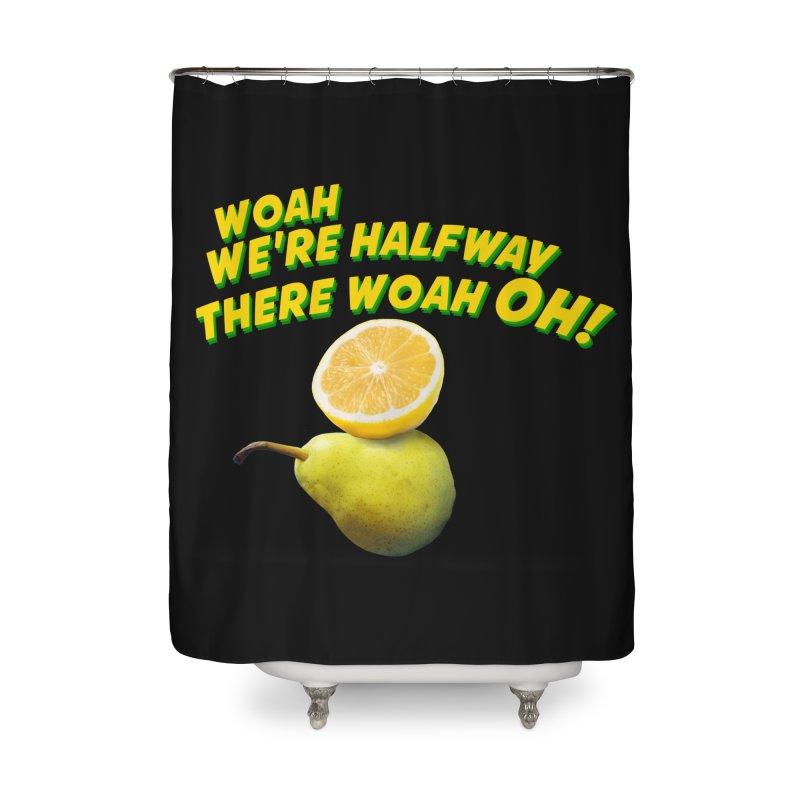 Lemon on a pear Home Shower Curtain by creativehack's Artist Shop