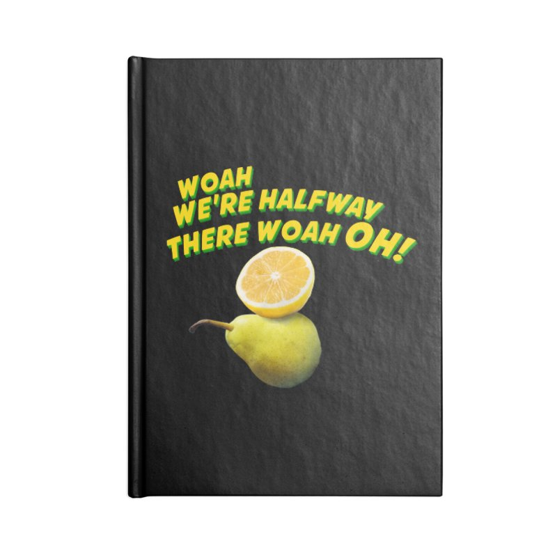 Lemon on a pear Accessories Notebook by creativehack's Artist Shop