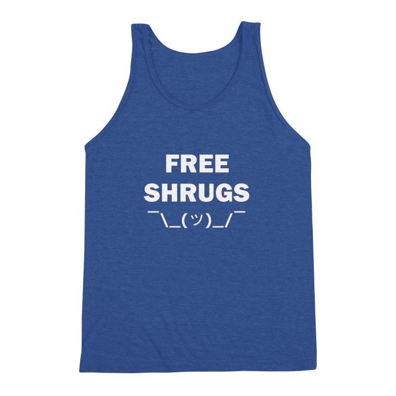 Free Shrugs Men's Triblend Tank by creativehack's Artist Shop