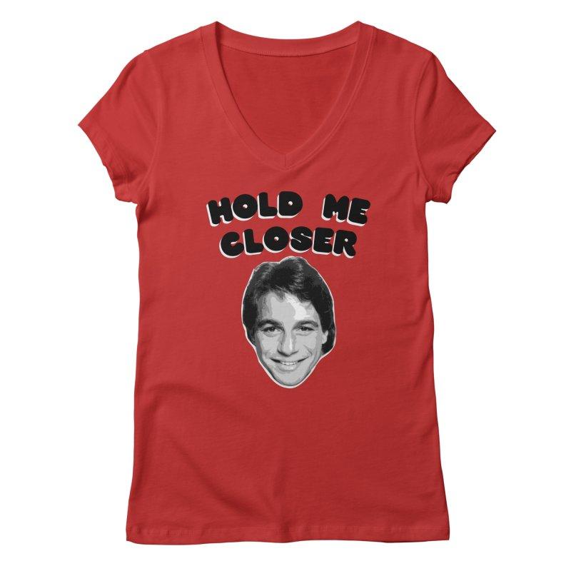 Hold me closer Women's V-Neck by creativehack's Artist Shop