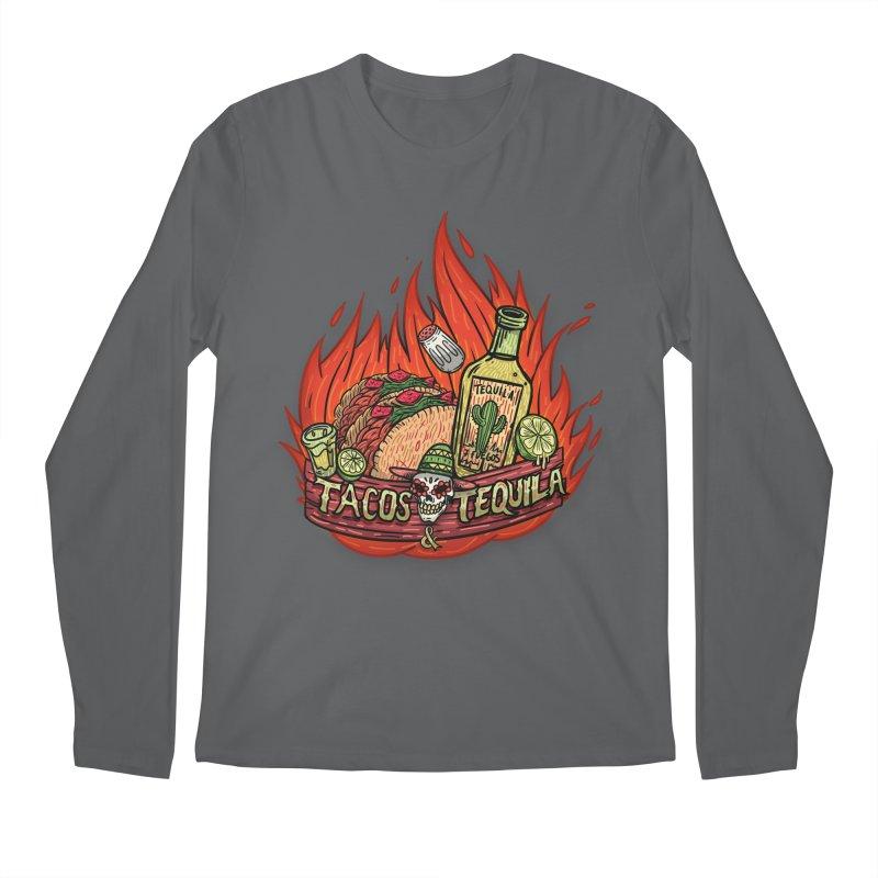 Love Tacos&Tequila Men's Longsleeve T-Shirt by creativosindueno's Artist Shop