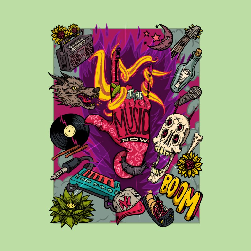 Live The Music Now Men's T-Shirt by creativosindueno's Artist Shop