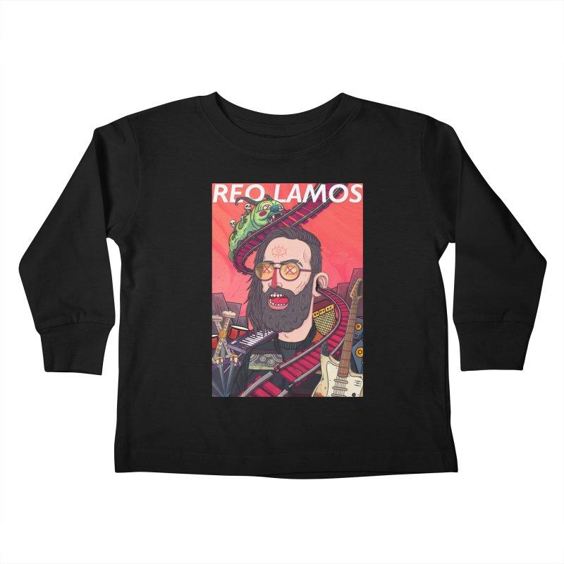 ReoLamos Kids Toddler Longsleeve T-Shirt by creativosindueno's Artist Shop