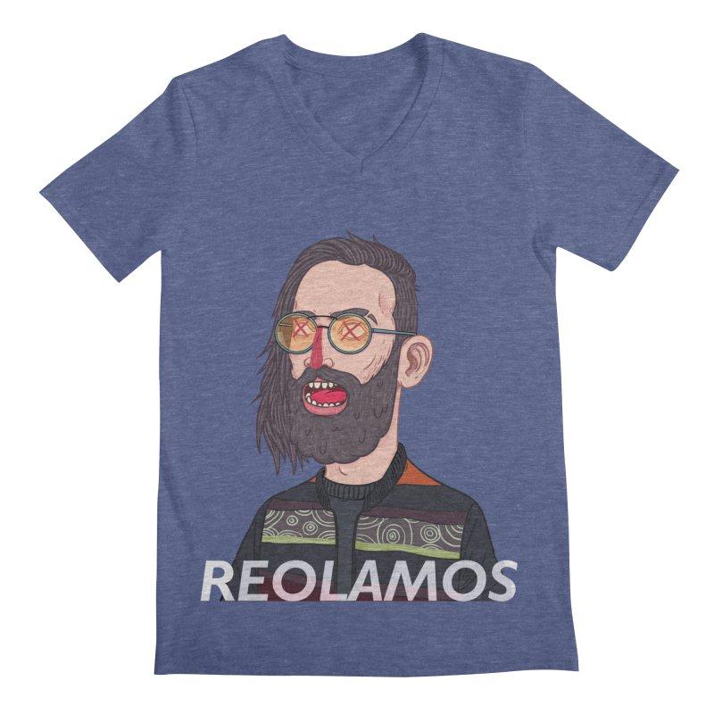 ReoLamos 2 Men's V-Neck by creativosindueno's Artist Shop