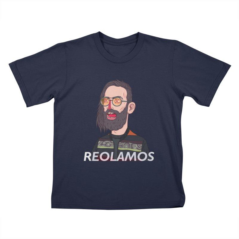 ReoLamos 2 Kids T-Shirt by creativosindueno's Artist Shop