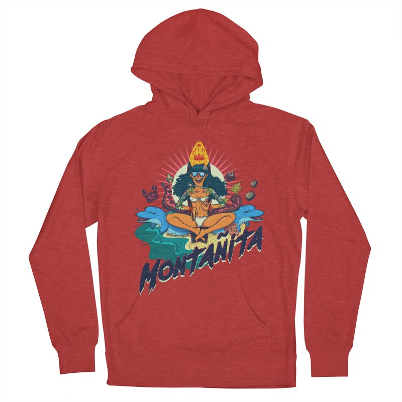 Montañita Women's Pullover Hoody by creativosindueno's Artist Shop