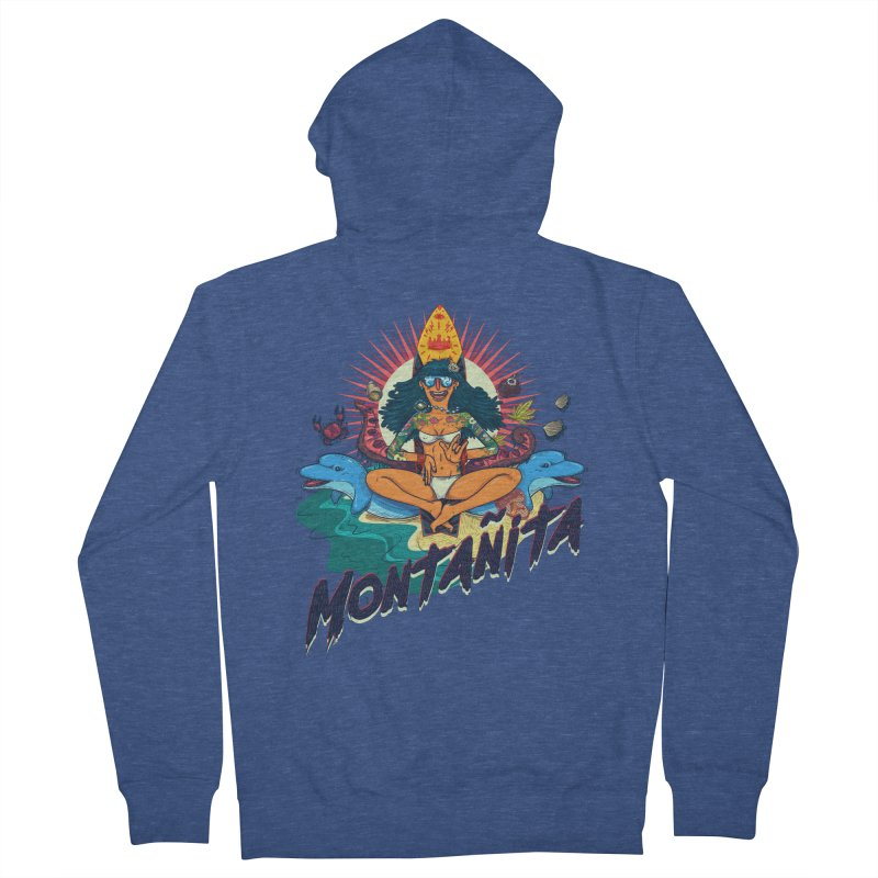 Montañita Women's Zip-Up Hoody by creativosindueno's Artist Shop