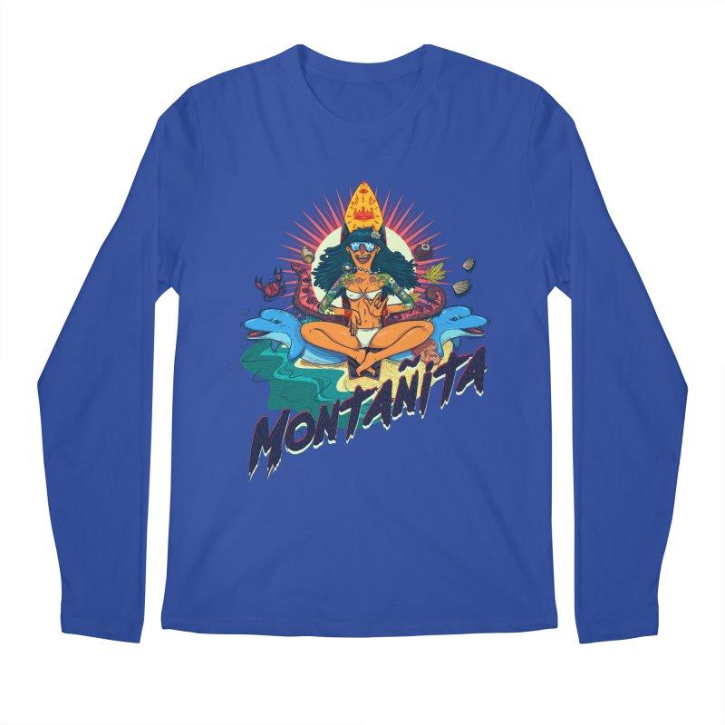 Montañita Men's Longsleeve T-Shirt by creativosindueno's Artist Shop