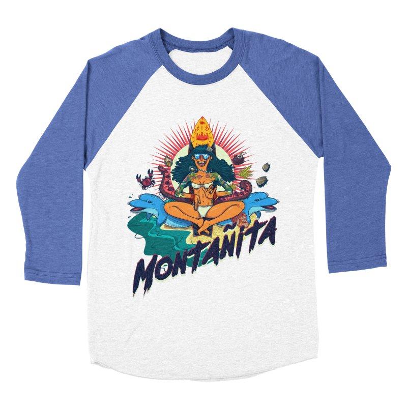 Montañita Women's Baseball Triblend T-Shirt by creativosindueno's Artist Shop