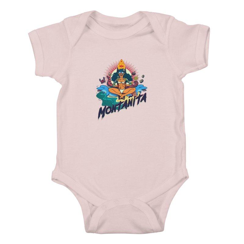Montañita Kids Baby Bodysuit by creativosindueno's Artist Shop