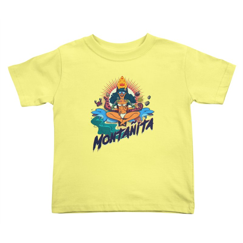 Montañita Kids Toddler T-Shirt by creativosindueno's Artist Shop