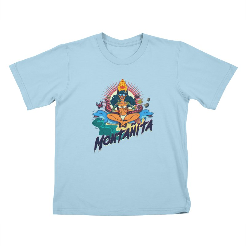 Montañita Kids T-Shirt by creativosindueno's Artist Shop