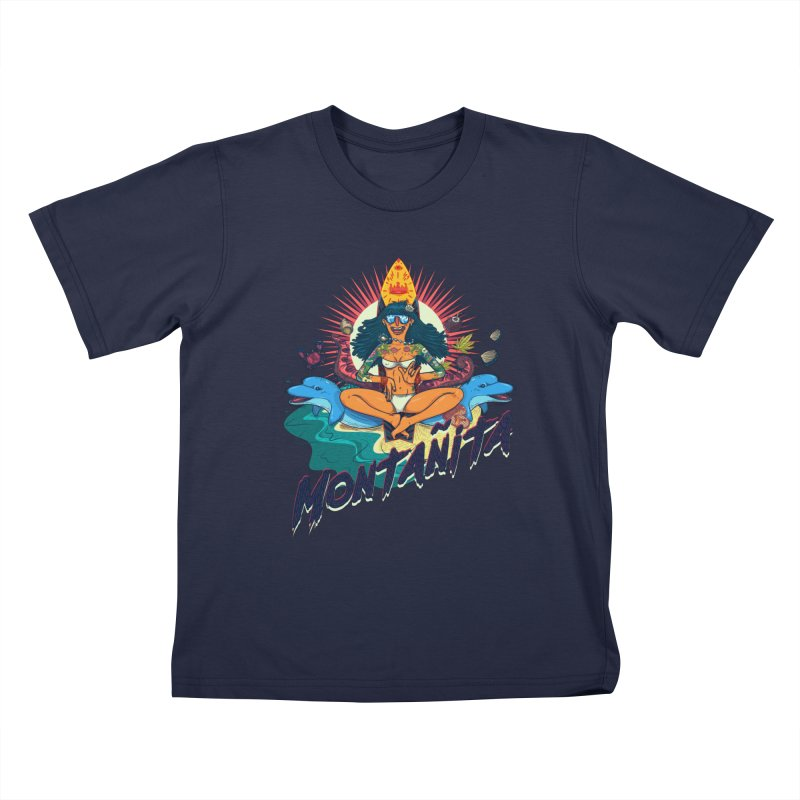 Montañita Kids T-shirt by creativosindueno's Artist Shop