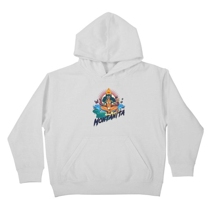 Montañita Kids Pullover Hoody by creativosindueno's Artist Shop