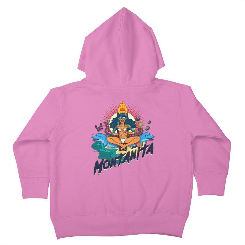 Montañita Kids Toddler Zip-Up Hoody by creativosindueno's Artist Shop