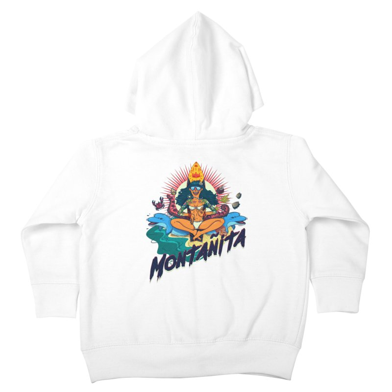 Montañita Kids Toddler Zip-Up Hoody by creativosindueno's Artist Shop