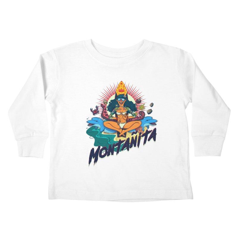 Montañita Kids Toddler Longsleeve T-Shirt by creativosindueno's Artist Shop
